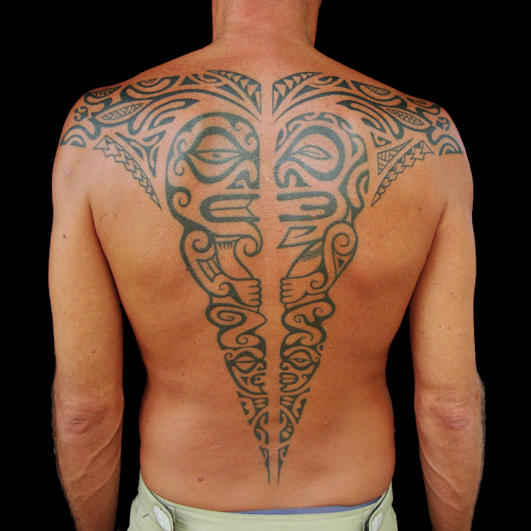 back piece Tahiti style