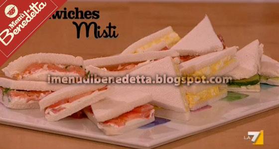 Sandwiches Misti di Benedetta Parodi