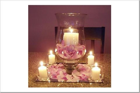 Wedding Vase Centerpieces