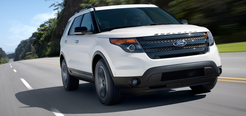 Midsize SUV Sales Figures In America - May 2013 YTD