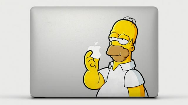 Sticker de Homer Simpson