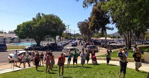 Fletcher Hills Elementary on Lockdown