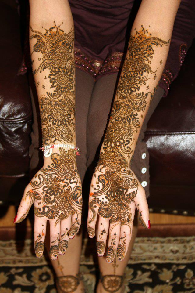 Mehndi Designs Jans : Bridal mehndi design pictures makedes