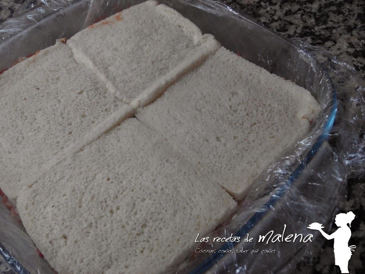 Pastel salado en frío