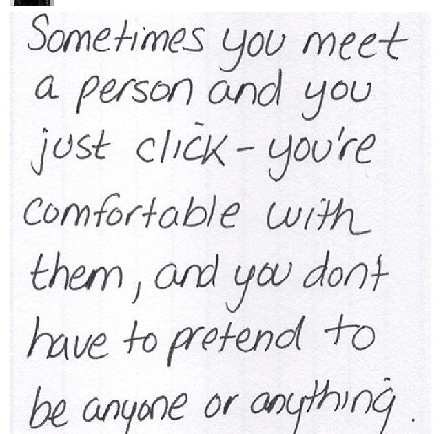 Met someone online
