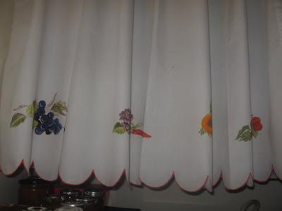 cortinas pintadas à mão