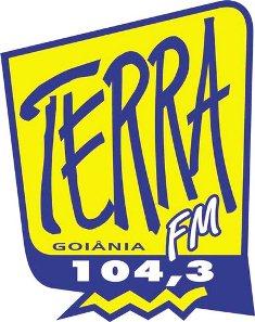 Rádio Terra FM 104,1 de Goiânia Goiás