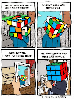 Afraid vs Positivity