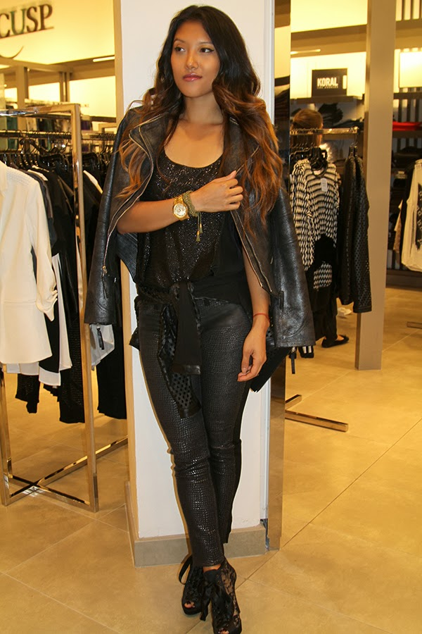 neiman marcus, denim event, denim trends, fall trends, fall fashion, jeans, how to style denim, what to wear with jeans, bal harbour, bal harbour shops, cusp, dl 1961 denim, rory beca, bailey 44, dawn levy, leather jacket, tom ford, makeup, cosmetics, 7 for all mankind jeans, elizabeth and james, the spa at one bal harbor resort and spa, nails, manicure, miami, south beach, joes jeans, maison scotch, haute hippie, parker, neiman marcus group, bergdorf goodman, chanel, gucci, saks fifth avenue, prada, tory burch, style by lynsee, fashion blogger, top blogger, top fashion blogger, youtube, beauty guru, miami fashion blogger, shopping, fashion, trends, guess