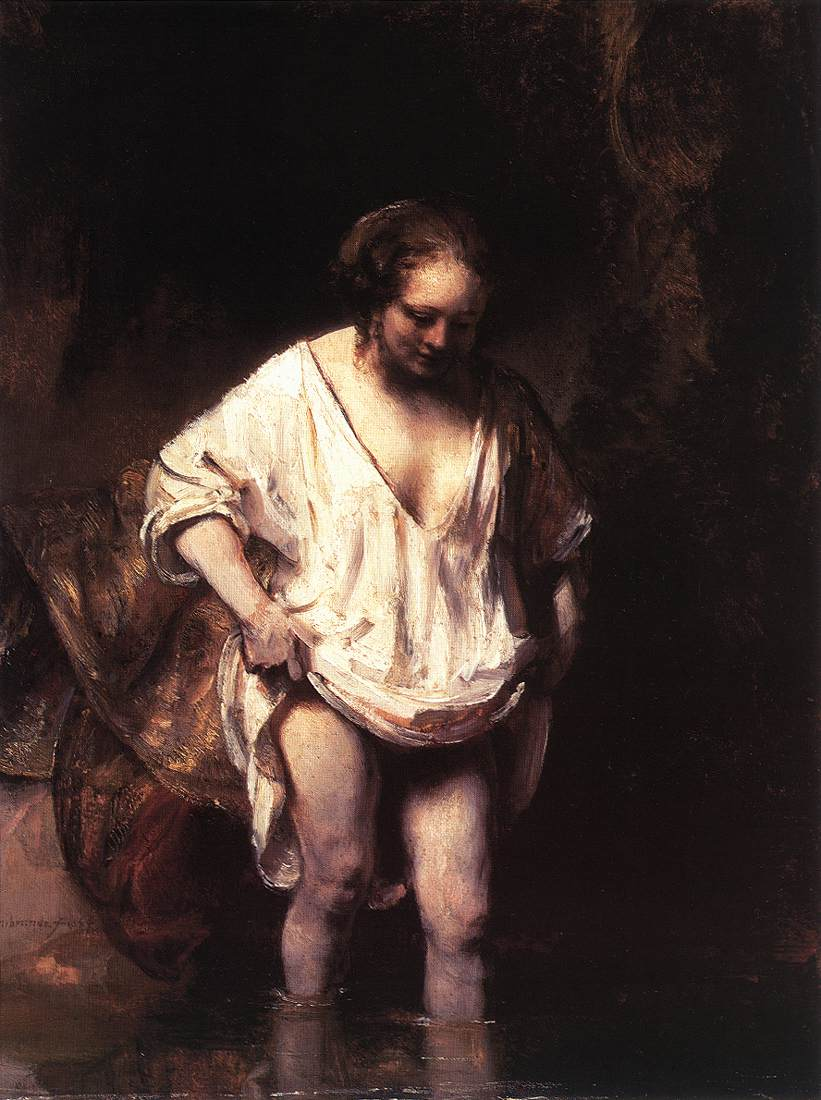 philip koch paintings a little rembrandt