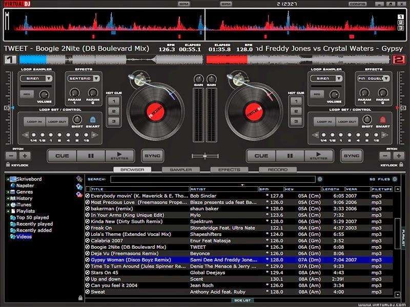 download virtual dj pro 8 full version crack