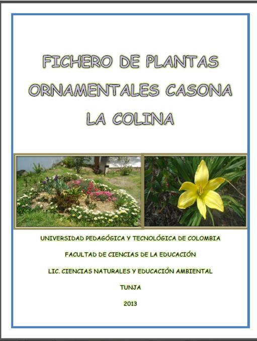Libro de juguemos a leer pdf for Plantas ornamentales wikipedia