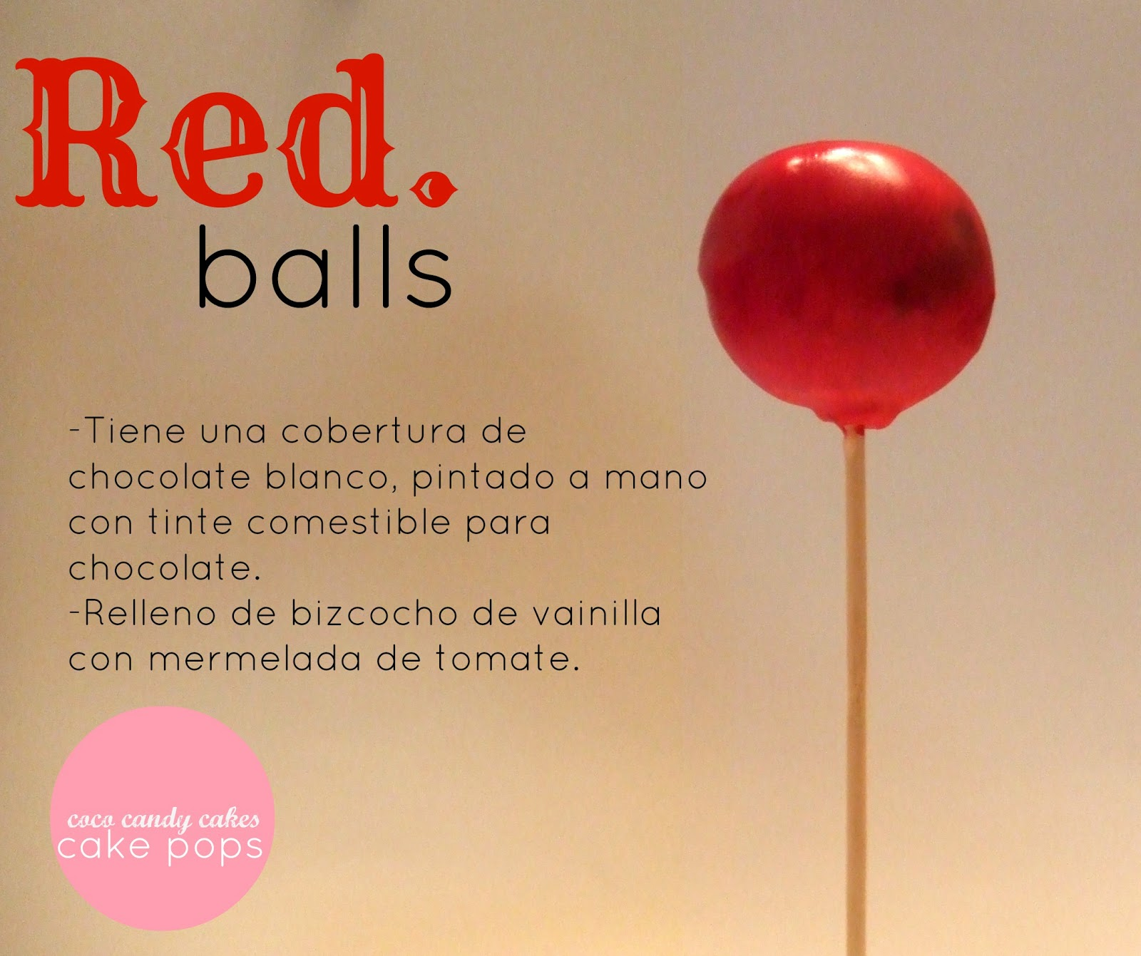 Coco candy cakes three balls cake pops new colection for Cobertura para cake pops