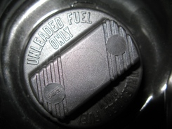 Unleaded Petrol Cap