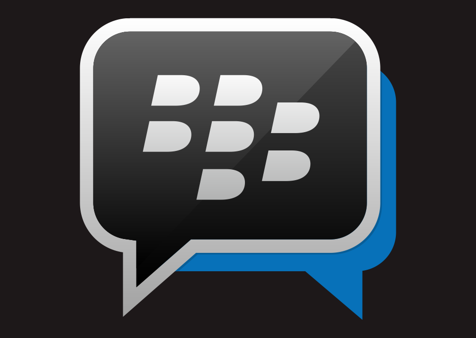 Logo BBM Blackberry Messenger Vector download free