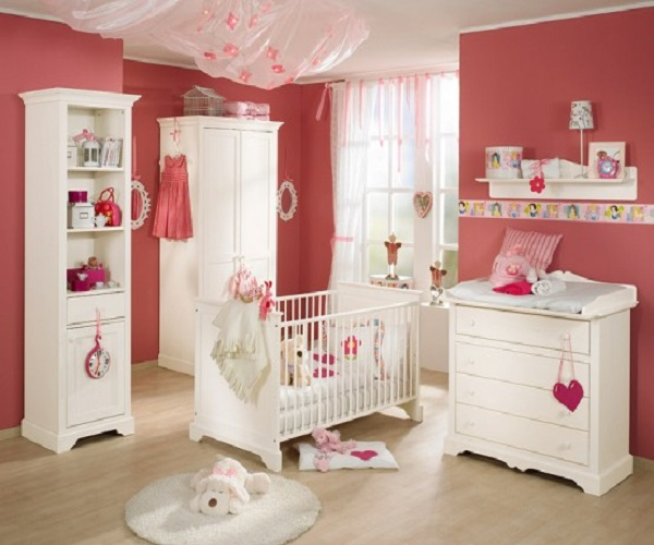 D coration de chambre b b fille b b et d coration for Decoration chambre de bebe fille