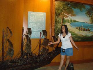 big vessel in the museum
