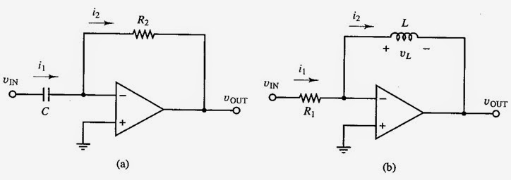 opamp as a differentiator operational amplifiers types tutorials