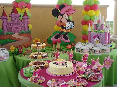 MuyAmeno.com: Fiestas Infantiles, Decoración Minnie Mouse