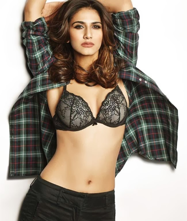 Vaani Kapoor hot bra removing goes topless for photoshoot naked nude