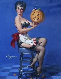 Halloween Pinup art