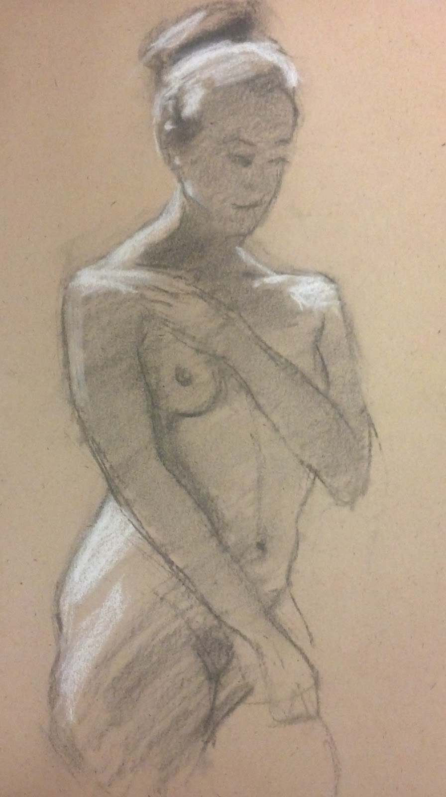 Nyack Center Figure Drawing November 15 2012 Figure