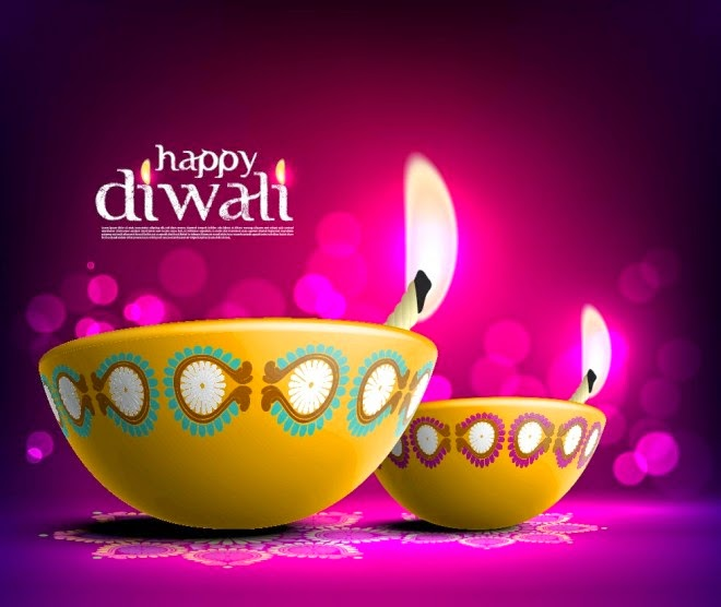 Beautiful 2014 Happy Diwali Greetings