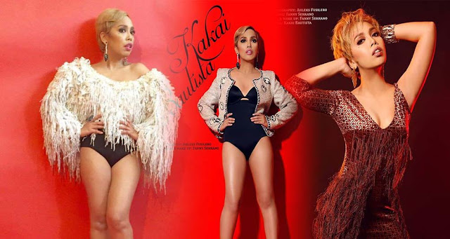 Kakai Bautista's New and Improvised looks earns praises from Netizens