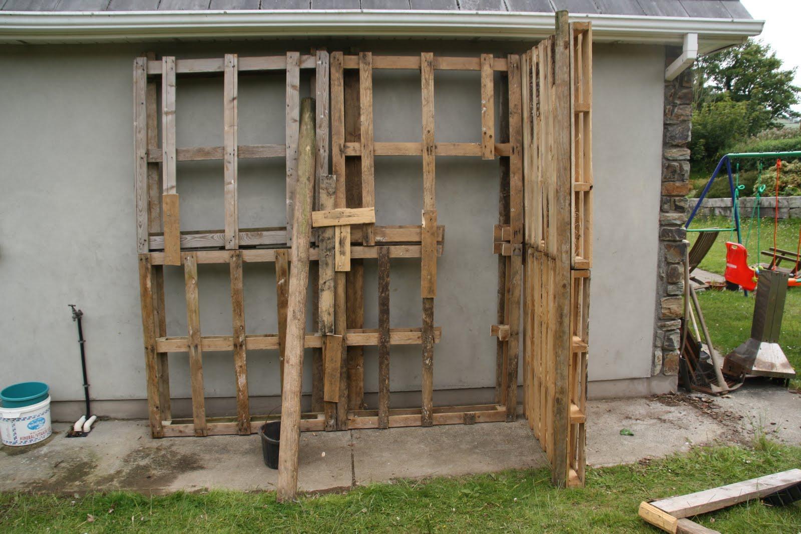 Clonlin Building A Garden Shed For Less Than 10 Euro
