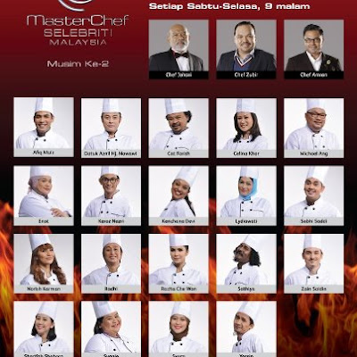 MasterChef Selebriti Musim 2 Bermula 20 April 2013