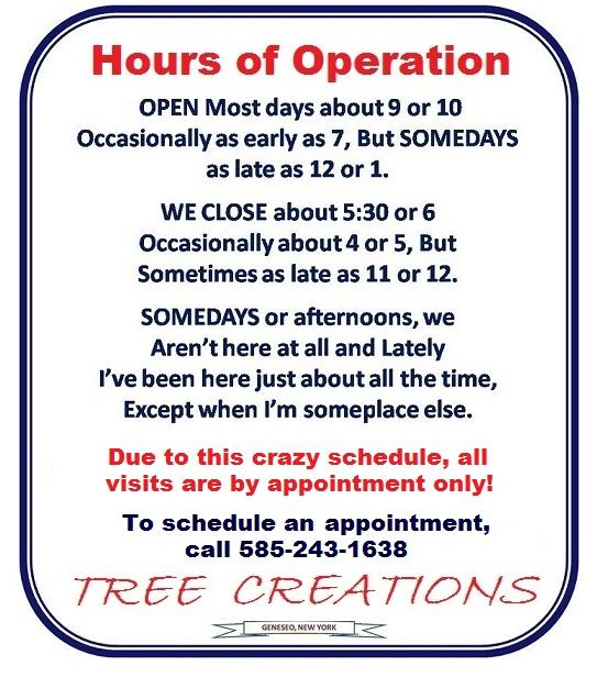 hours of operation template free