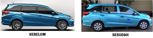 Transformasi Honda mobilio menjadi taksi