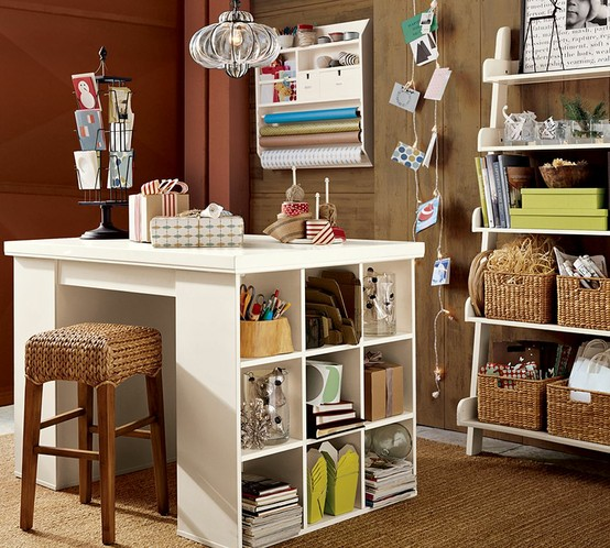 Crafty Girl Bliss Craft Room Ideas From Pinterest