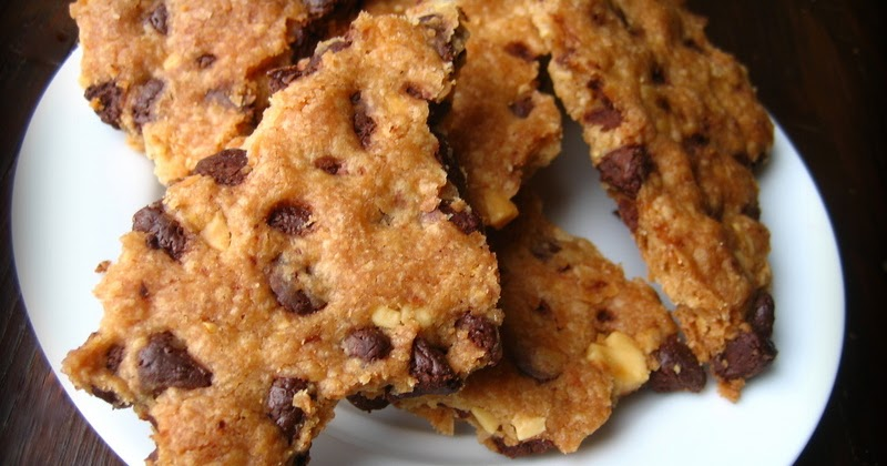 ... In Montana: Easy Chocolate Chip Cookie Brittle(Egg-free).... Sweet #4