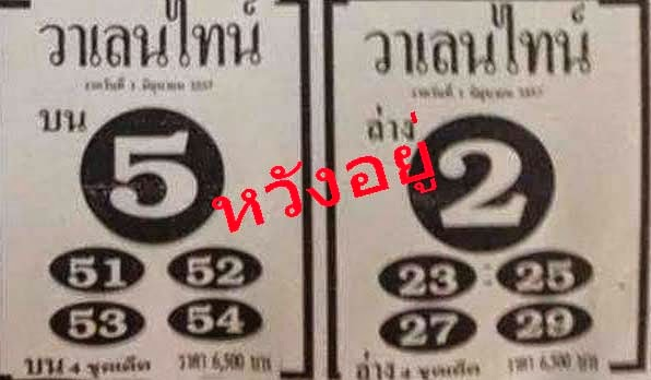 Thai Lotto VIP Tips  | Thai lotto Down Game 01-06-2014