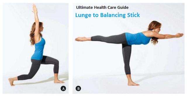Lunge Balancing Workout