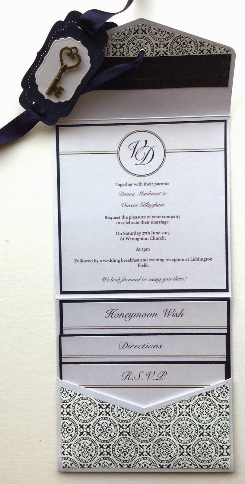 The Craftz Boutique: Wedding Invitations