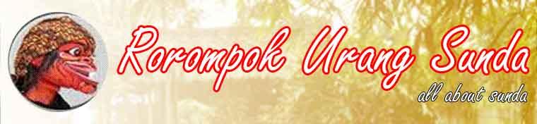 ROROMPOK URANG SUNDA