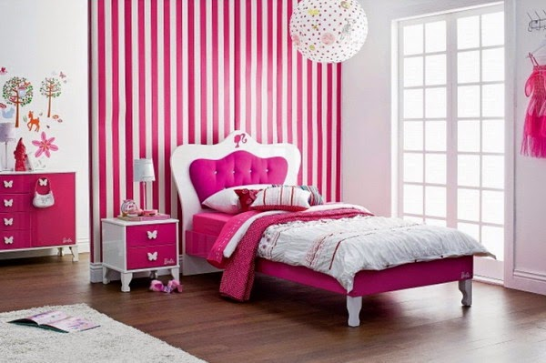 Simple Minimalist Bedroom Decor Ideas for Pinky Girls