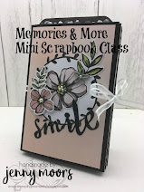 Memories & More Petal Passion Mini Scrapbook Album