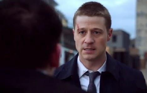 Ben McKenzie angry Penguin Detective Gordon Gotham pilot screencaps