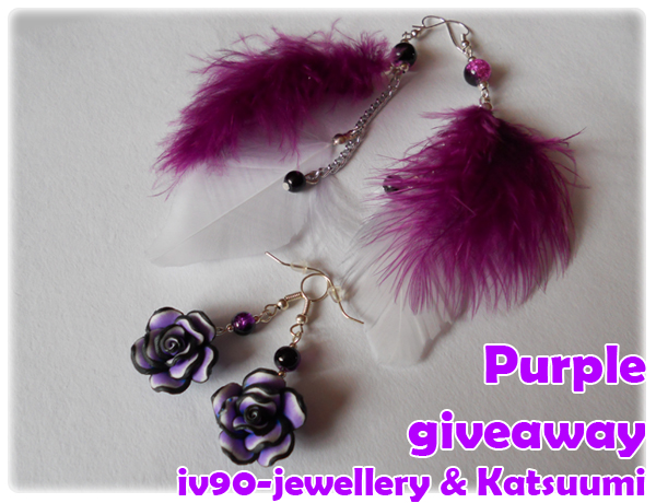 http://iv90-jewellery.blogspot.com/2012/08/purple-giveaway.html