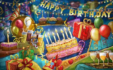 #12 Happy Birthday Wallpaper