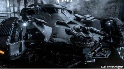 Mobil Resmi Batman dalam Dawn of Justice