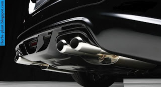 Mercedes s600 exhaust - صور شكمان مرسيدس s600