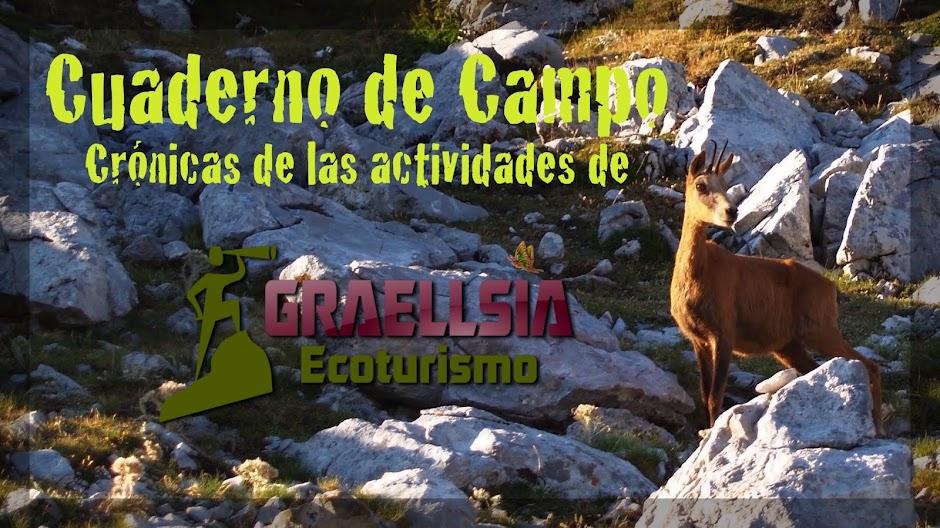 Cuaderno de Campo de Graellsia Ecoturismo