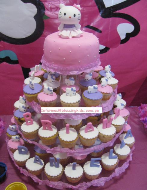Kitty Decoracion De Tortas ~ Estos preciosos cupcakes que puse en las im?genes de ejemplo, los