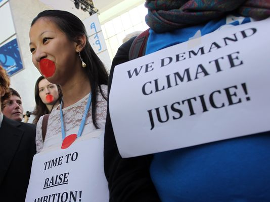 An aware generation needs clean power and climate justice