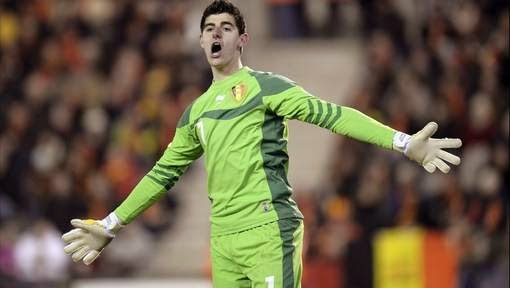 courtois diables rouges
