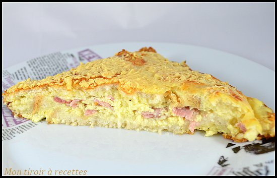 croque monsieur quiche